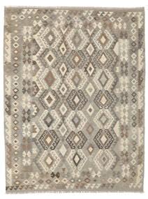 Kelim Afghan Old Style Teppe 180X243 Ekte Orientalsk Håndvevd Mørk Grå/Mørk Brun (Ull, Afghanistan)