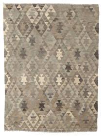 Kelim Afghan Old Style Teppe 170X230 Ekte Orientalsk Håndvevd Mørk Brun/Brun (Ull, Afghanistan)