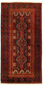 Beluch Teppe 96X193 Ekte Orientalsk Håndknyttet (Ull, Persia/Iran)